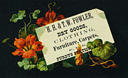 1880s Prints - MERCHANT TRADE CARD, c1880 Print by Granger