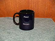 Surrealism Ceramics Posters - Mercury Custom photo reproduction Coffee mug- Side B Poster by Ryan Demaree