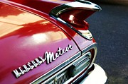 Downtown Portland Framed Prints - Mercury Meteor Framed Print by Cathie Tyler