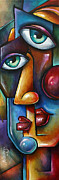 Urban Expressions Framed Prints - Merge Framed Print by Michael Lang