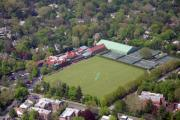 Photo Flight Prints - Merion Cricket Club Cricket Festival Print by Duncan Pearson