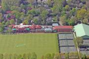 Photo Flight Prints - Merion Cricket Club Philadelphia Cricket Club Print by Duncan Pearson