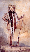 Jt History Photos - Meriwether Lewis 1774-1809, Co-leader by Everett