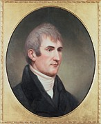 Purchase Posters - Meriwether Lewis 1774-1809 . Portrait Poster by Everett