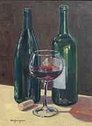 Wine Country. Originals - Merlot by Paul Youngman