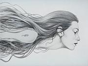 Mermaid Print by Diego Fernandez
