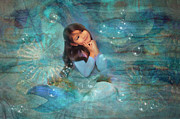 Little Mermaid Art - Mermaid Dreams by MiMi  Photography