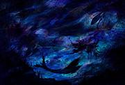 Mermaid Print by Rachel Christine Nowicki