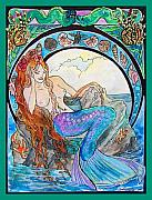 Mermaid Song Print by Jenn Cunningham