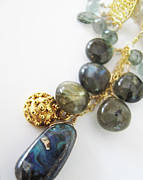 Dark Jewelry - Mermaid Treasure Bubble Necklace by Adove  Fine Jewelry