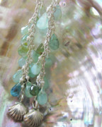 Beach Jewelry Originals - Mermaid Treasure Bundle Earrings  by Adove  Fine Jewelry