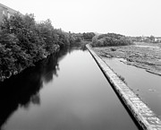 Canal Photo Originals - Merrimack Power Canal by Jan Faul