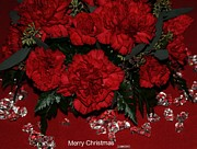 Merry Christmas Print by Kathleen Struckle