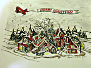 Teresa Johnson - Merry Christmas Village