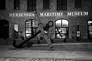 Liverpool Prints - Merseyside Maritime Museum At The Albert Dock Liverpool Merseyside England Uk Print by Joe Fox