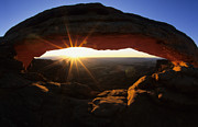 Reward Metal Prints - Mesa Arch Sunrise Metal Print by Bob Christopher