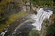 Silk Water Prints - Mesa Falls II Print by Robert Bales