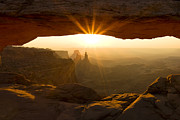 Canyonlands National Park Prints - Mesa Morning Print by Andrew Soundarajan