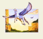 Mesa Pegasus Print by Melissa A Benson