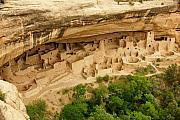 National Photo Framed Prints - Mesa Verde Cliff Dwelling Framed Print by Sean Cupp