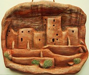 Rock Art Ceramics - Mesa Verde memories by Lucy Deane