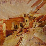 Summer Celeste Painting Prints - Mesa Verde Print by Summer Celeste