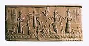 Ishtar Prints - Mesopotamian Gods Print by Photo Researchers