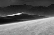 Death Valley Dunes. The Race Track Posters - Mesquite Dunes 3 Poster by Bob Christopher
