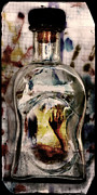 Luis Digital Art - Messa In A Bottle 2 Goodbye by Pedro Cardona