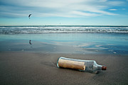 Misfortune Prints - Message In Bottle Print by Elvira Boix Photography