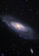M106 Posters - Messier 106, A Spiral Galaxy Poster by R Jay GaBany