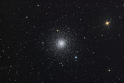 Star Clusters Posters - Messier 3, A Globular Cluster Poster by Roth Ritter