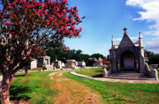 Metairie Cemetery Prints - Metairie Cemetery New Orleans Print by Thomas R Fletcher