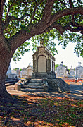 Metairie Cemetery Prints - Metairie Cemetery Print by Steve Harrington