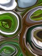 Metal Abstract Print by Linnea Tober