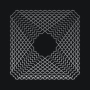 Modular Prints - Metallic Lace AVI Print by Robert Krawczyk