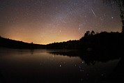 Meteor Shower Prints - Meteor Shower Print by Laurent Laveder