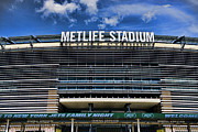 New York Jets Framed Prints - MetLife Stadium Framed Print by Paul Ward