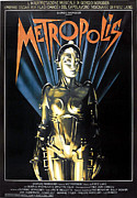 Jbp10ma14 Prints - Metropolis, 1927 Poster For 1984 Print by Everett