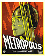 Story-1920s Photos - Metropolis, Brigitte Helm, 1927 by Everett