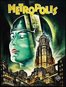 Metropolis Digital Art Prints - Metropolis Poster Print by Bill Cannon