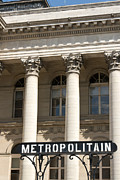Metropolitain Framed Prints - Metropolitaine Bourse Framed Print by Fabrizio Ruggeri