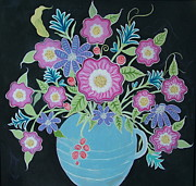 Teresa Grace Mock - MeXi FloWers in BlacK...