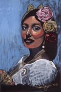 Senorita Art - Mexican Dancer by Valinda Gallea