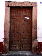 Mexican Door 45 Print by Xueling Zou