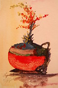 Lynn Beazley Blair - Mexican flower pot