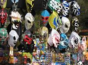 Mexican Masks Print by Stav Stavit Zagron