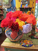 Elizabeth Rose - Mexican Paper Flowers and Talavera Pottery