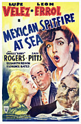 Spitfire Prints - Mexican Spitfire At Sea, Lupe Velez Print by Everett