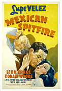 Spitfire Prints - Mexican Spitfire, Leon Errol, Donald Print by Everett